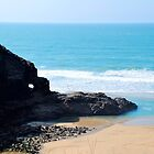 Perranporth Cornwall March 2015 by lynn carter