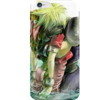Cloud & Aerith - Aerith's Death - Final Fantasy 7 iPhone Case/Skin