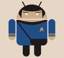Dr. Spock BugDroid by David Benton
