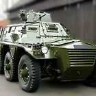 Saracen Armoured Car by Colin J Williams Photography