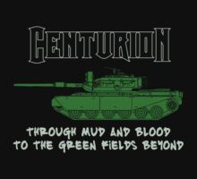 Centurion Tank Shirt by Robert Chawner