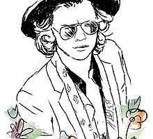 Harry Styles by mariamtronchoni