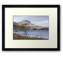 The Old Man and the Loch Framed Print