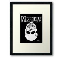 The Misprints Framed Print