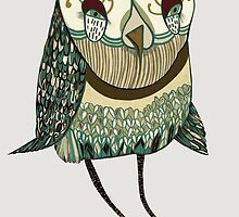 My Garden Owl by penwork