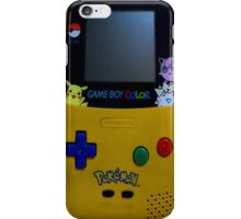 GameBoy Color Pokemon iPhone Case/Skin