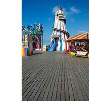 Brighton Pier Funfair Photographic Print