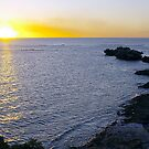 Point Peron sunset by Algo21