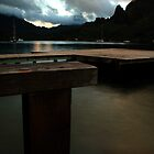 Cooks Bay Evening, Moorea by Tyler  Core