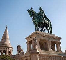 King Saint Stephen, Budapest. by FER737NG