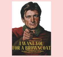 I Want You for a browncoat Kids Clothes