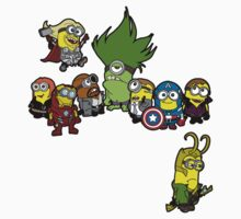 Assemble Minions Kids Clothes