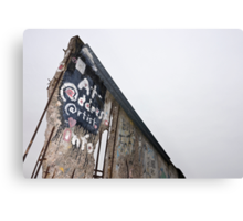 Berlin Wall Metal Print