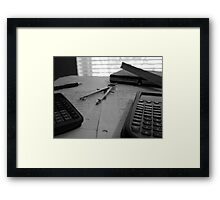 Tales of a Former Engineering Student - Part I Framed Print