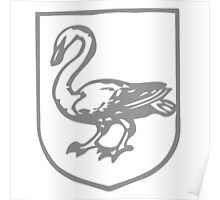 A Complete Guide to Heraldry - Figure 467 — Swan Poster