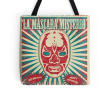 The Mysterious Mask Tote Bag