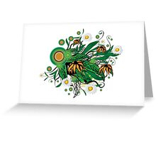 Summer floral Greeting Card