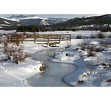 Winter in Colorado Photographic Print