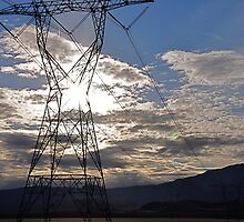Electric sky   by redaries