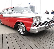 Classic Red and White 1959 Style by skyhorse