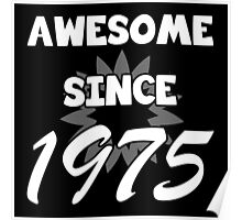 Awesome Since 1975 Poster