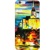 Castle Above The Harbor iPhone Case/Skin