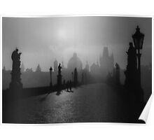 Prague Charles IV Bridge Poster
