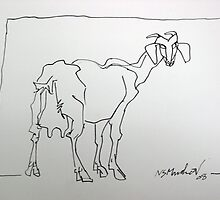 Goat Galore - 05     by indianart2009
