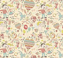 Love seamless pattern by Agor2012