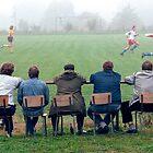 Soccer-Fans by Martin Langer