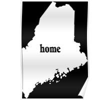 Original Maine Home - Tshirts & Hoodies Poster