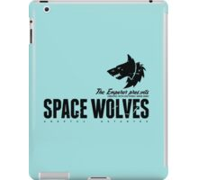 Space Wolves - Sign - Black iPad Case/Skin