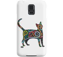 Psychedelic Cat Samsung Galaxy Case/Skin