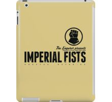 Imperial Fists - Sign - Black iPad Case/Skin