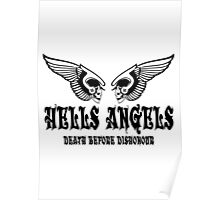 Hells Angels - Death Before Dishonour Poster