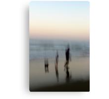 Beach Impressions - Walk This Way Canvas Print
