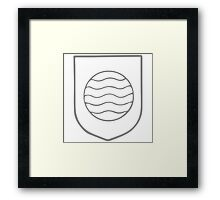 A Complete Guide to Heraldry - Figure 242 — Fountain Framed Print