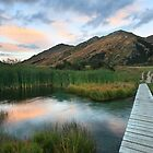 Last of the Light, Queenstown, South Island, New Zealand by Michael Boniwell