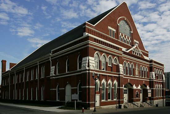 Ryman Auditorium by J. Scott Coile
