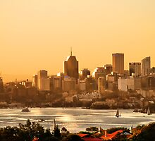North Sydney. Gold and silver by andreisky