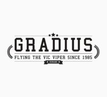 Gradius - Retro Black Clean by garudoh