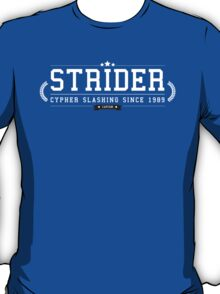 Strider - Retro White Clean T-Shirt