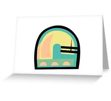 Abstract '80s 06 Greeting Card