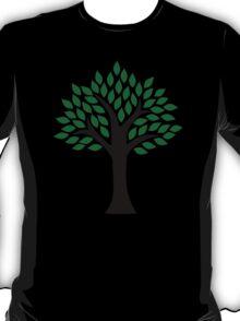 Tree green leaves T-Shirt