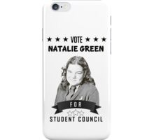 Natalie Green for Student Council iPhone Case/Skin