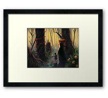 Banshee Foster Mom Framed Print