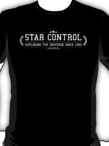 Star Control - Retro White Dirty T-Shirt