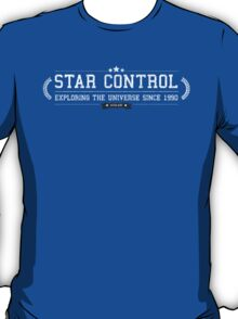 Star Control - Retro White Dirty T-Shirt