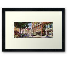 Germany Baden-Baden Lange Str Framed Print