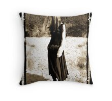 quiet moments on the waters edge Throw Pillow